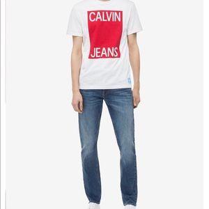 Men's Calvin Klein straight slim jeans